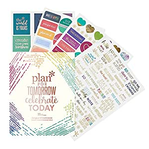 Erin Condren Designer Sticker Book - Classic Edition 4 (492 Stickers Total). Decorative and Cute Stickers for Customizing Planners, Notebooks, and More