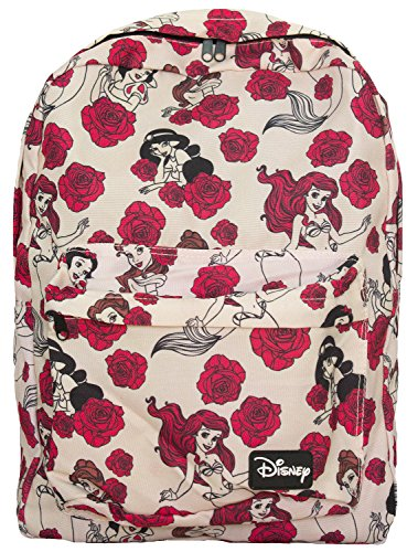Loungefly Disney Princesses Pink Rose Backpack
