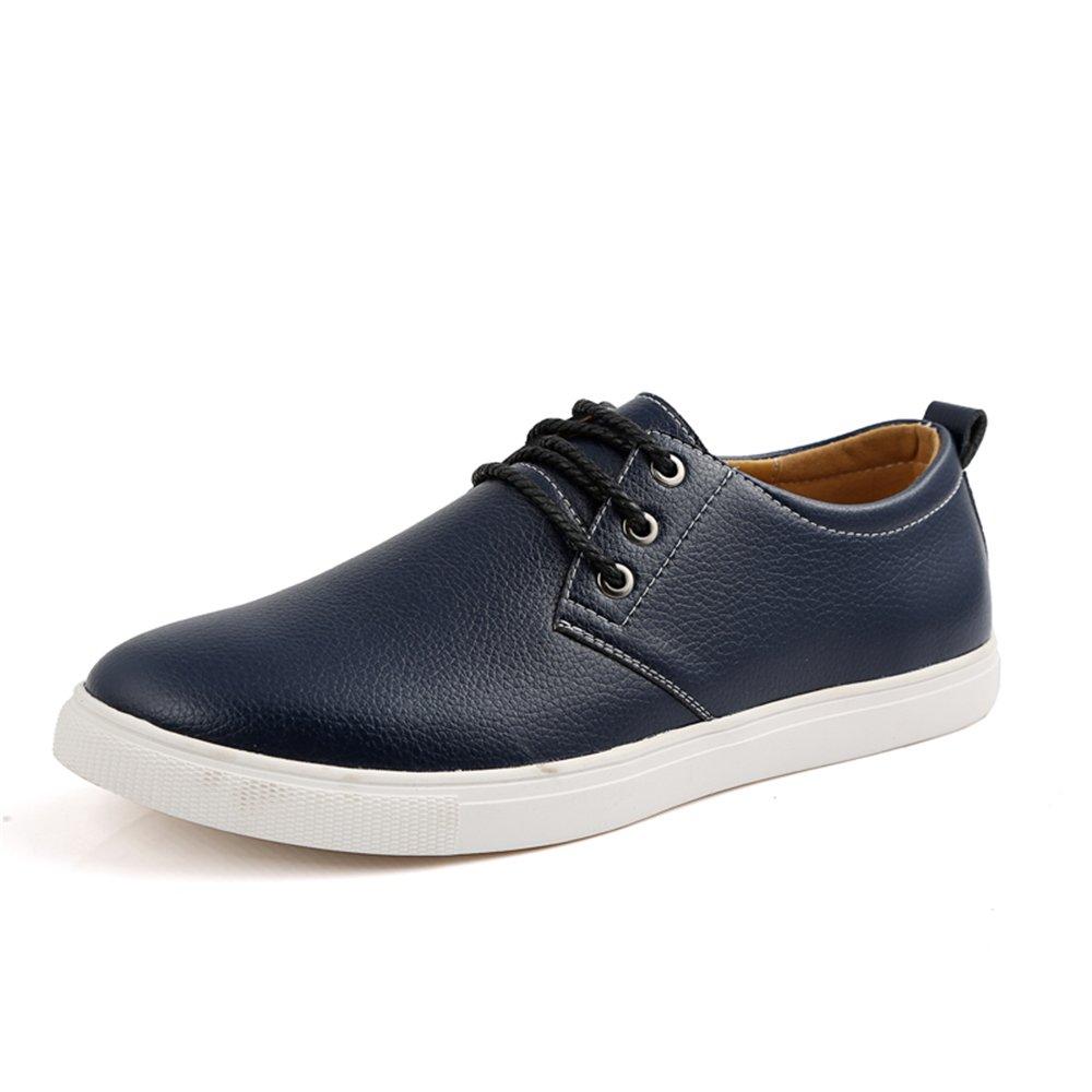 AARDIMI Herren Sneaker Groszlig;e Grouml;szlig;e 38-49 Marke Einfarbig Mauml;nner Atmungsaktive Outdoor Casual Fahrschuhe Herrenschuhe  49 EU|Blau