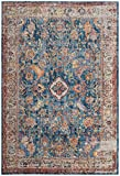 Safavieh Bristol Collection BTL361C Blue and Light Grey Vintage Oriental Distressed Area Rug (9′ x 12′) Review