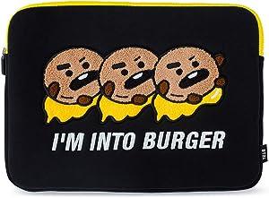BT21 Official Merchandise by Line Friends - SHOOKY Character Bite Ppogeul Laptop Sleeve 13