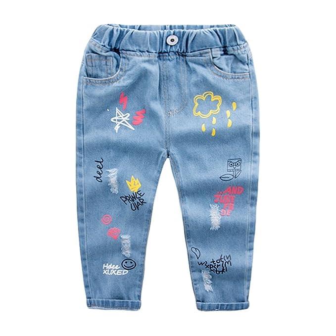 Yujeet Larga Transpirable Ocio Suave Pantalones De Mezclilla ...