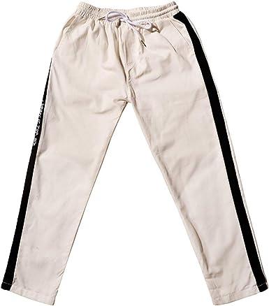 Pantalones Casuales Sueltos De Los De Chándal Algodón Pantalones ...