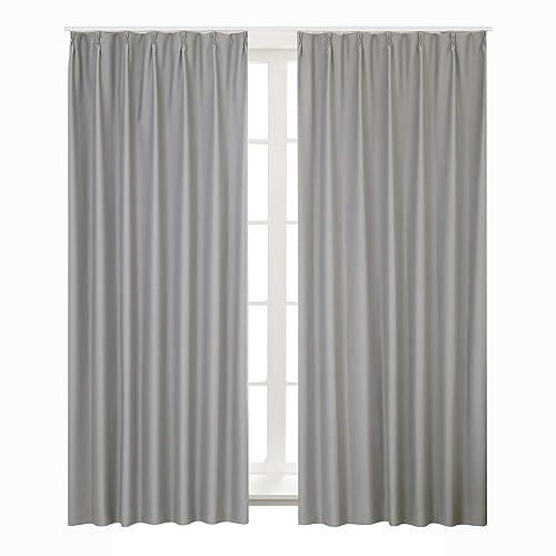 Bedsure 1級遮光 ドレープカーテン