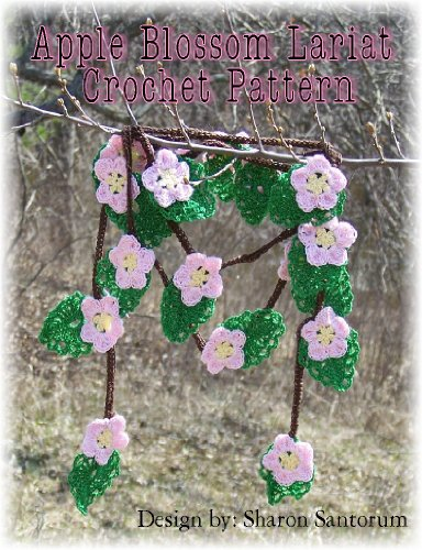 Apple Blossom Lariat Crochet Pattern