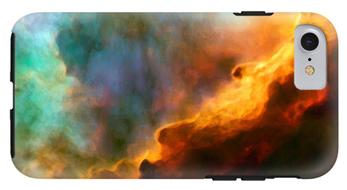 iPhone 8 Case ''Omega Swan Nebula 3'' by Pixels by Pixels