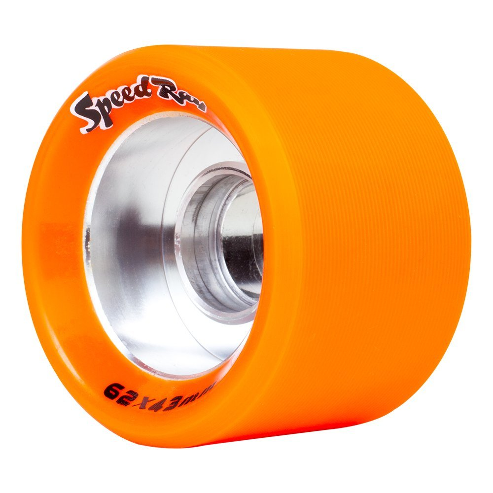 Riedell Skates Radar Speed Wide Ray Indoor Skate Wheels (Set of 4)