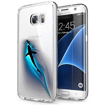 Amazon.com: Carcasa para Samsung Galaxy S7 Edge, diseño de ...