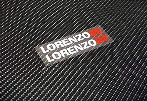 Lorenzo Cross - Fotcus Moto Gp Jorge Lorenzo No.99 stickers motocross car styling reflective decals motorcycle racing helmets ATV