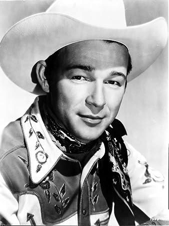 Amazon.com  Posterazzi Roy Rogers in a Cowboy hat Photo Poster Print ... 6f0da845262