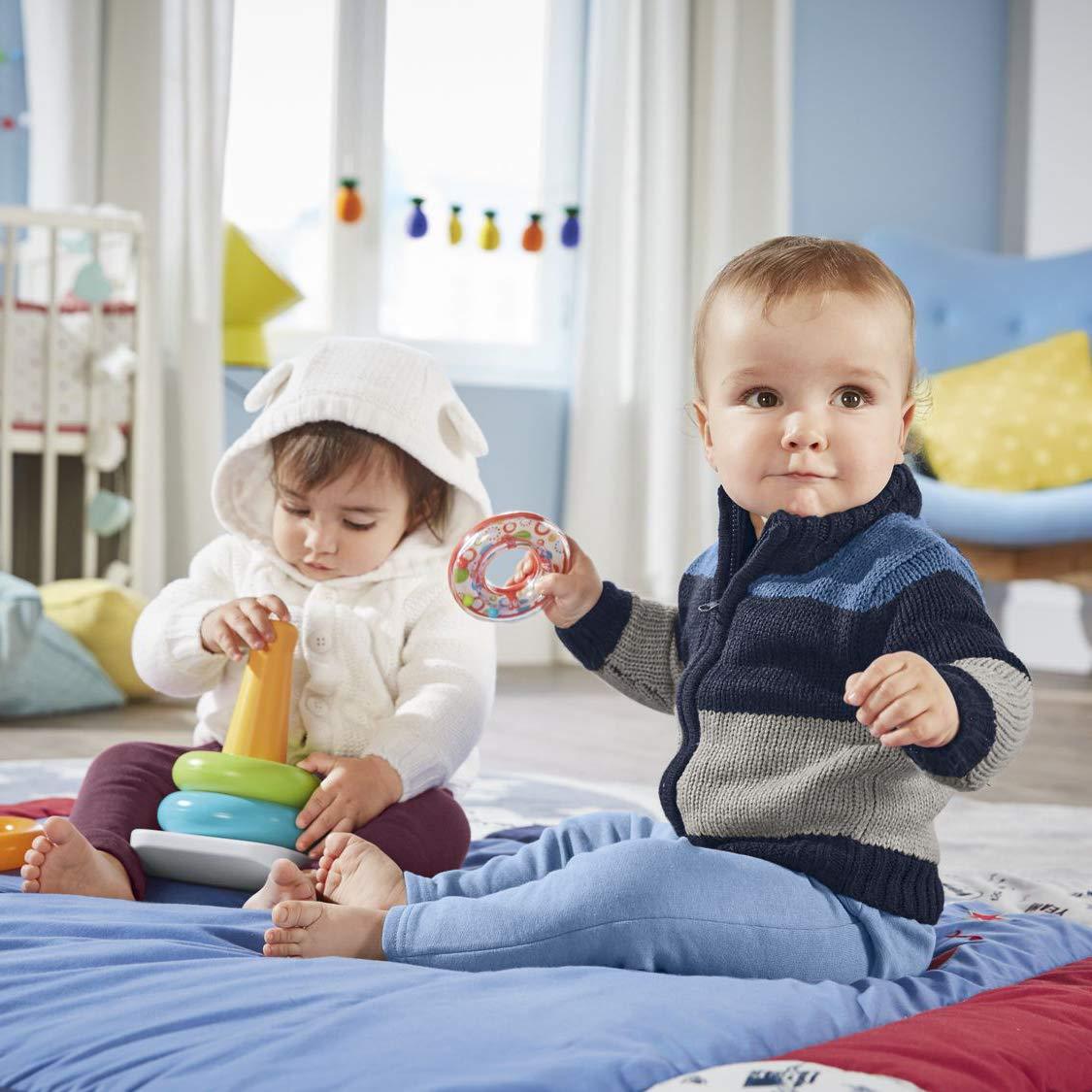 w/ärmendem Teddyfutter lupilu/® Baby Jungen Strickjacke mit weichem