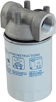 Kraftstofffilter Dieselfilter Biodiesel Für Dieselpumpen Kraftstoffpumpen HeizÖlpumpen UmfÜllpumpen Zum Super Preis Diesel Filter Mit Austauschbarem Filter Einsatz Baumarkt