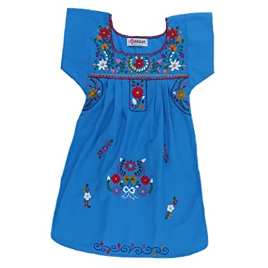 70a7c2f9e Amazon.com  Mexican Clothing Co Little Girls Mexican Dress ...