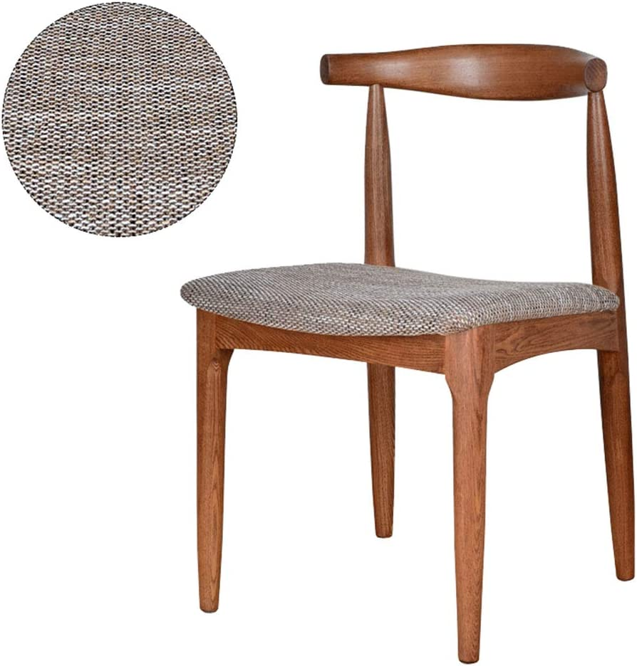 Solid Wood Dining Room Chair Home Table Office Hippo Heavy Wooden Frame Back Reception Chair High Quality Cloth Pad Amazon De Baumarkt