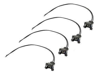 61U%2BjJGeHXL._SX425_ amazon com michigan motorsports qty 4 fuel injector obd1 connector