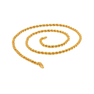 91b06142576a5 Voylla Chain Necklace for Men (Golden)(8907275514565)  Amazon.in  Jewellery
