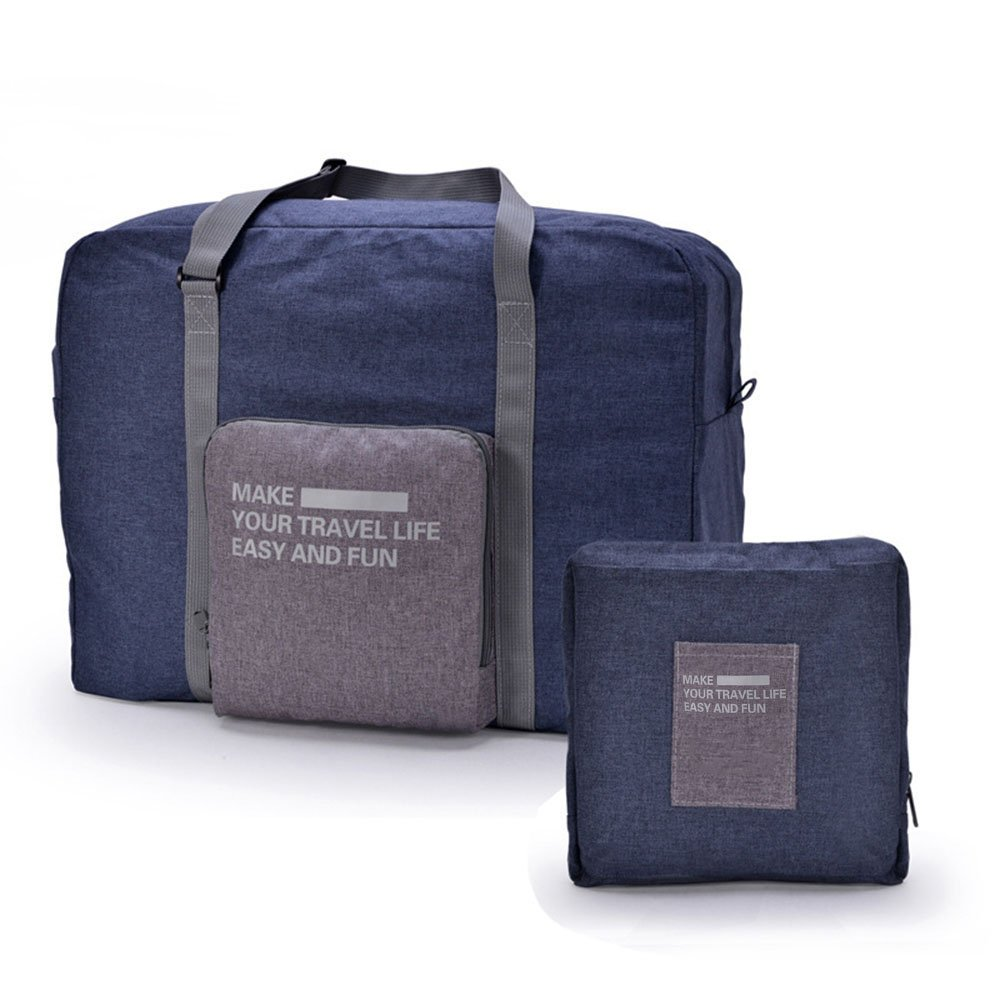 Travel Lightweight Waterproof Foldable Storage Carry Luggage Duffle Tote Bag for Women and Man