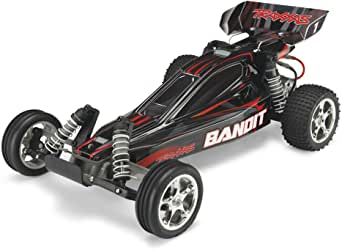 Traxxas 24054-1 Bandit 1/10 Scale 2WD Off-Road Buggy with TQ 2.4GHz Radio, Black