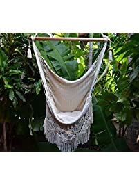 handmade hanging rope hammock chair all natural indoor or outdoor porch swing patio swing chair - Patio Swing Set