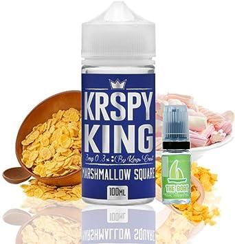 E Liquid Kings Crest Krspy 100ml - 70vg 30pg - booster shortfill + ELiquid The Boat 10 ml lima limón - Pack de 2 unidades para cigarrillo electrónico.: Amazon.es: Salud y cuidado personal