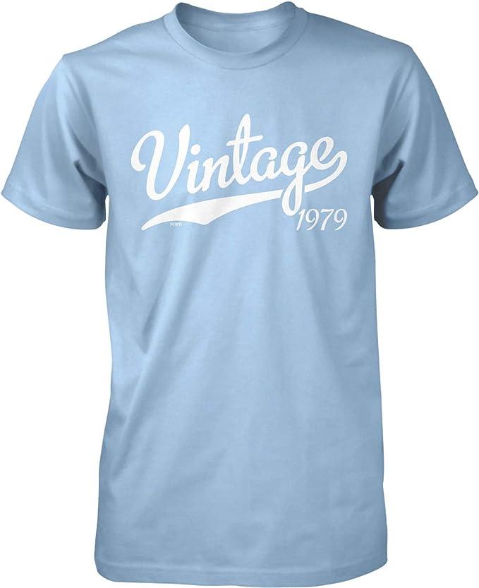 Amazon.com: NOFO Clothing Co Vintage 1979 - Camiseta para ...
