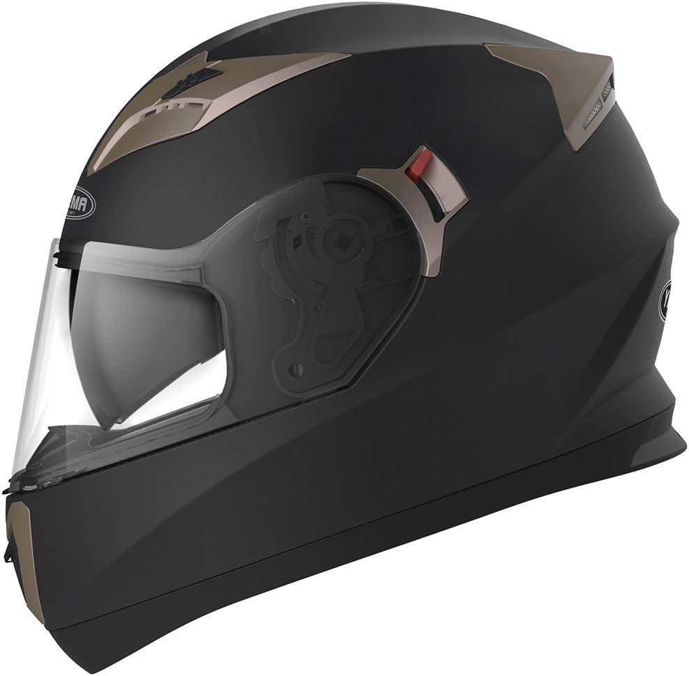 耶马摩托车全脸头盔
