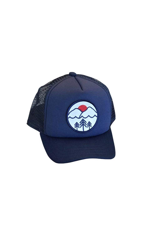 5796a0fa77c Amazon.com  Toddler Pacific Northwest adjustable trucker hat. Pac NW  toddler foam trucker cap.  Handmade