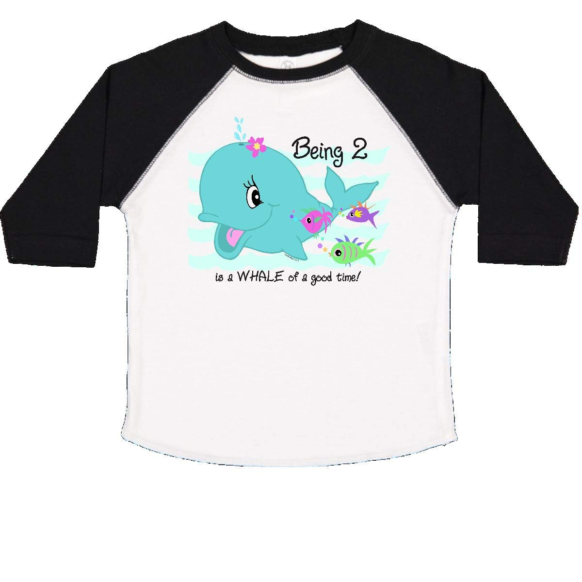inktastic Whale 2nd Birthday Toddler T-Shirt