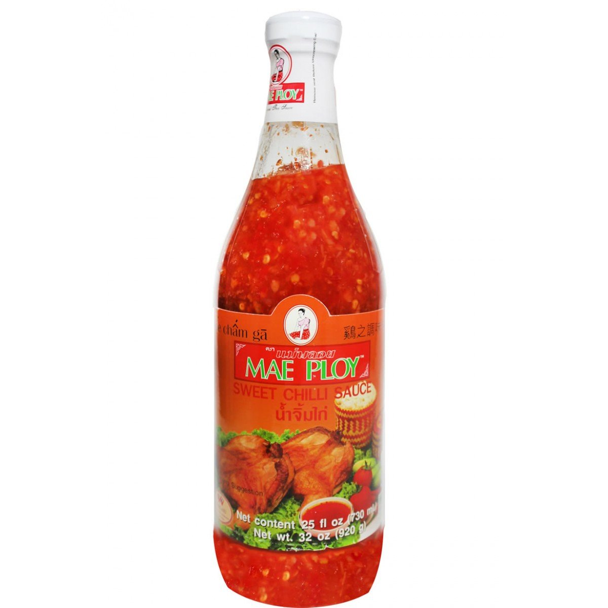 Mae Ploy Sweet Chilli Sauce, 25 ounce