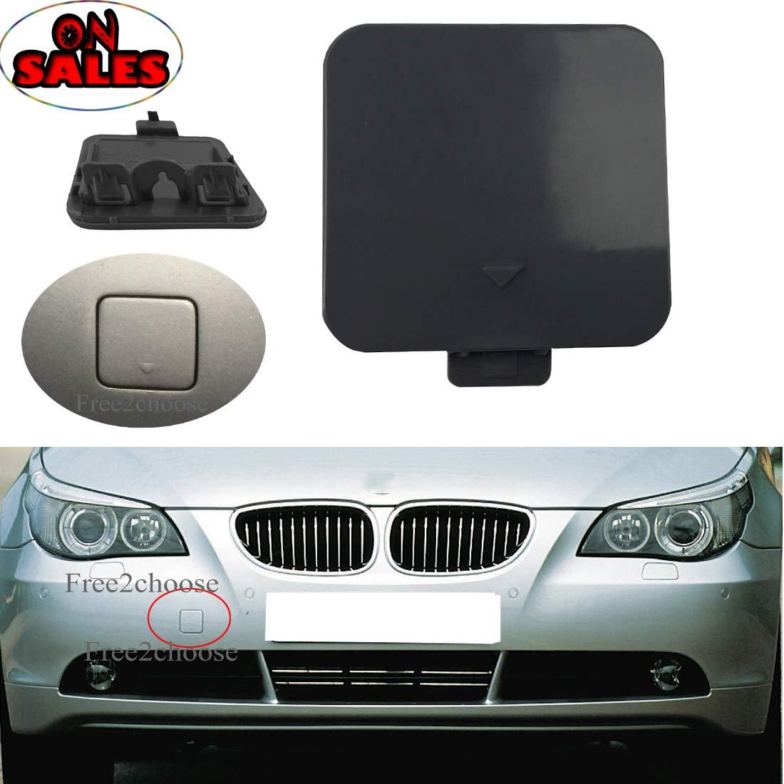Free2choose Front Bumper Tow Hook Cover for E90 328i 335d 335i E91 2009-2011 51117207299
