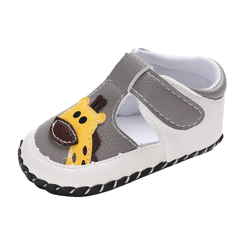 Toddler Boys Girl Animal Soft Bottom Shoes Non-Slip Sole Loafers Suma-ma Babys Casual First Walkers Flat Shoes