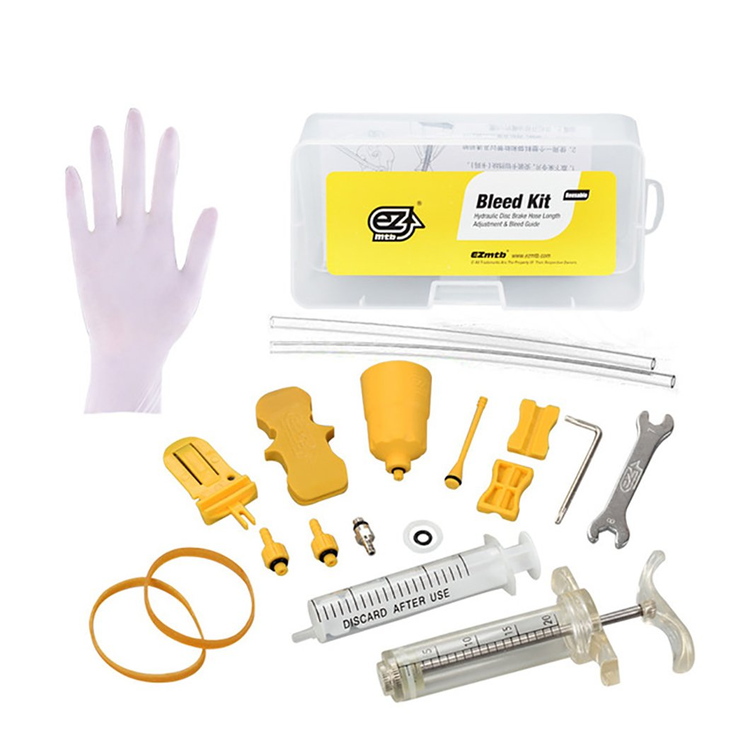 Outgeek Bicycle Hydraulic Brake Bleed Tool Kit for MT Seires Brake System Use Mineral Oil Brake by Outgeek (Image #1)