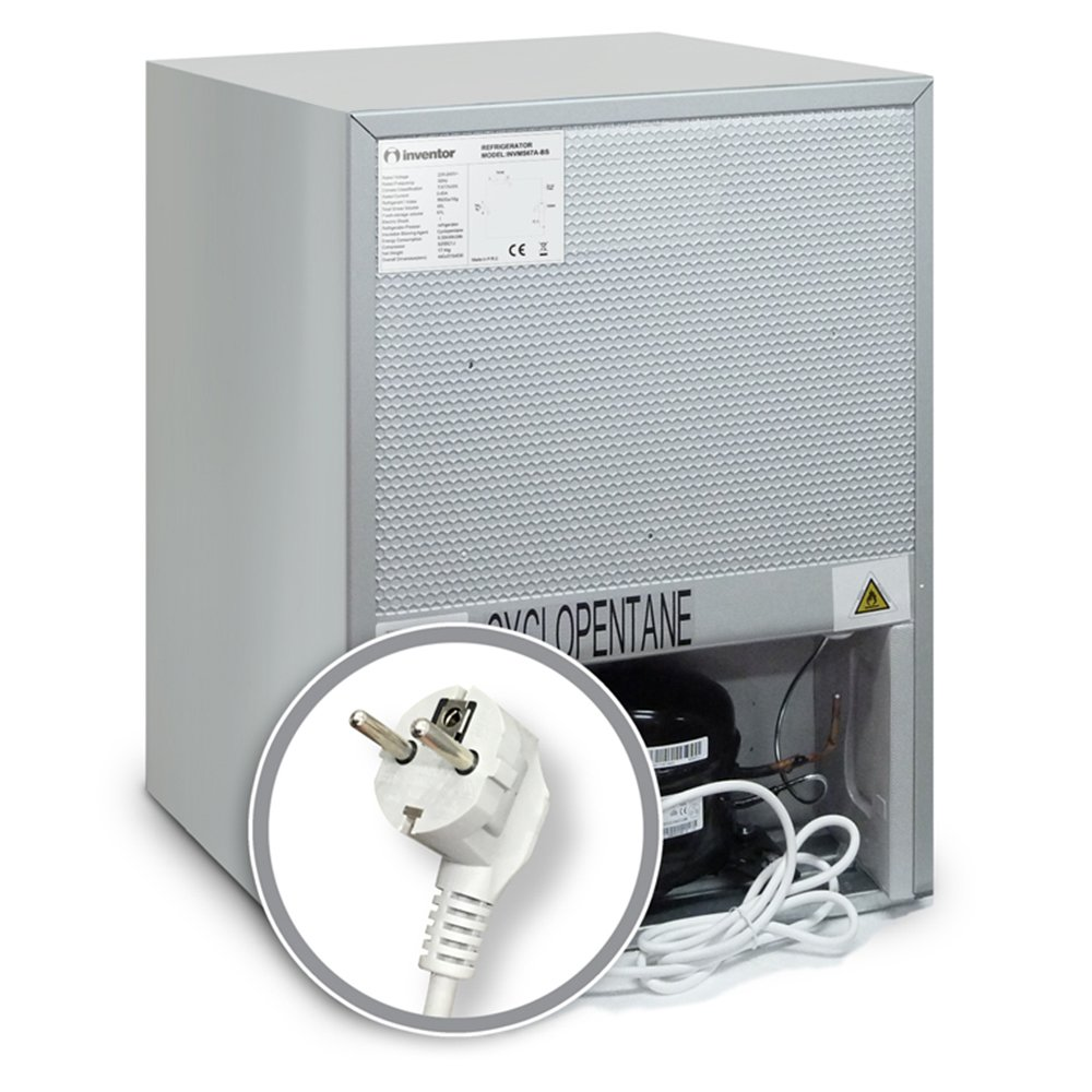 Inventor Mini de frigorífico 67L, clase energética A + ...
