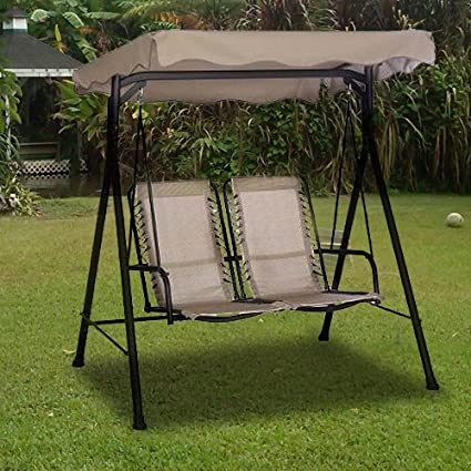 Charming Alexander 2 Seater Comfort Swing Replacement Canopy