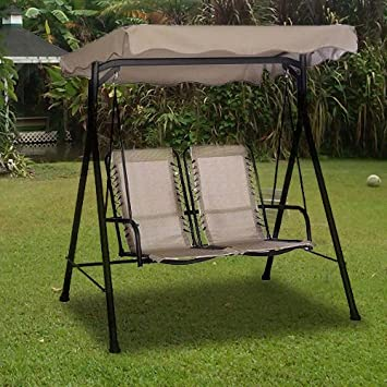Alexander 2-Seater Comfort Swing Replacement Canopy & Amazon.com : Alexander 2-Seater Comfort Swing Replacement Canopy ...