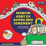 CD WISSEN Junior - KIDS Academy - Warum gibt es Autos mit Sirenen? Coole Antworten auf clevere Fragen: Fahrzeuge, 1 CD