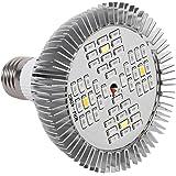 Yosoo La Planta hidropónica de 48W LED Crece la Lámpara de Crecimiento de Interior del Espectro Completo del Panel Ligero para el Invernadero