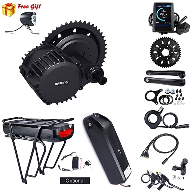 Best ebike Conversion Kit: 8 Fun Bafang BBS03/BBSHD Mid Drive Electric Bike Conversion Kit