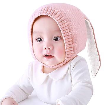 MZHEHAOAN Gorras Lindas Otoño Invierno Niños Gorros para bebés ...
