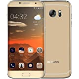 BLUBOO Edge Smartphone 4G FDD-LTE Ohne Vertrag 5.5 Zoll Android 6.0 Quad-core 2GB RAM+16GB ROM 13.0MP+8.0MP Fingerabdrucksensor