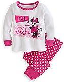 """Disney Store Baby Mädchen Minnie Maus """"I 'm a cutie pie"""" Pink PJ Pals Schlafanzüge"""