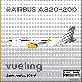 PHX1501 1:400 Phoenix Model Vueling Airbus A320-200 with Sharklets REG #EC-LVS (pre-painted/pre-built) offers