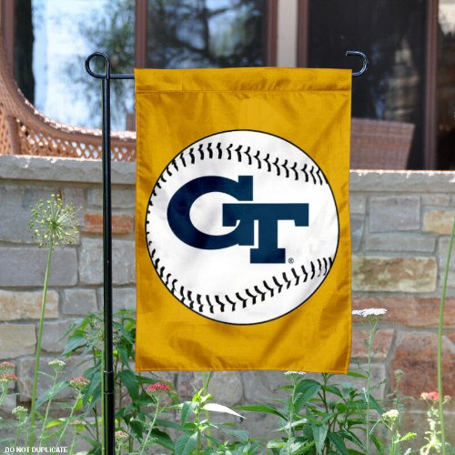 Georgia Tech Yellow Jackets Baseball Garden Flag Yard Banner