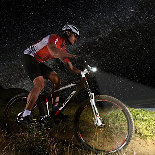 LETOUR Bike Light Loud Bike Horn, Rechargeable Bicycle Light Waterproof Cycling Lights, Bicycle Light Front Loud Sound Siren, 3 Lighting Modes 5 Sounds by LETOUR (Image #1)