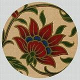Art Needlepoint Flower from India Coaster Needlepoint Kit