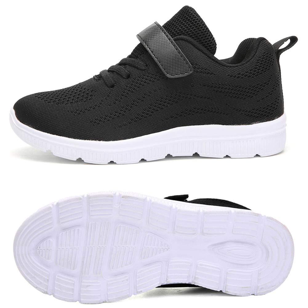 ITAPO Kinder Schuhe Turnschuhe M/ädchen Hallenschuhe Jungen Sportschuhe Klettverschluss Sneaker Laufschuhe