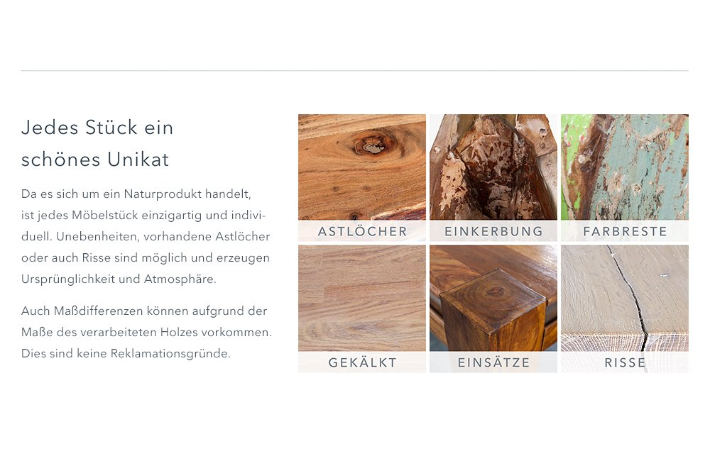 Massives TV Board MAKASSAR 130cm Schubladen Sheesham Lowboard TV Schrank  Holz: Amazon.de: Küche U0026 Haushalt
