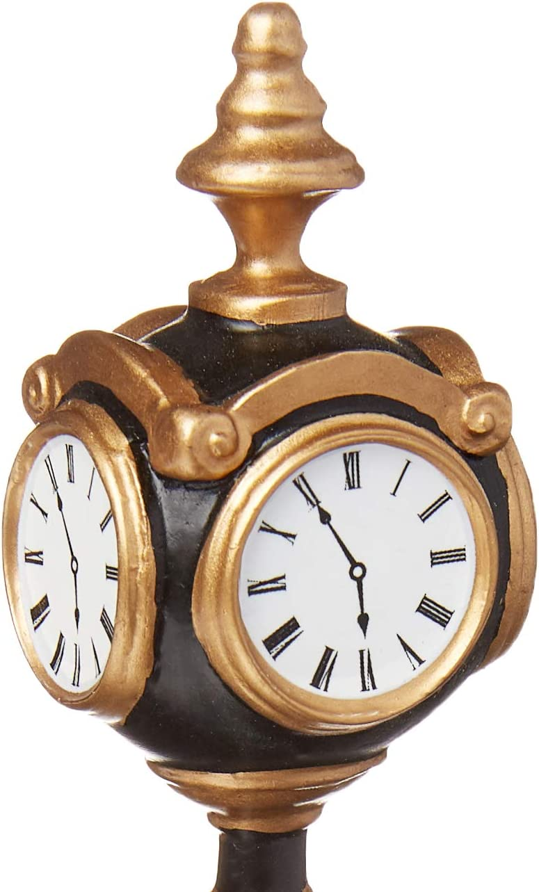 Department 56 Accessories for Village Collections Uptown Clock General Accessory 5.55-Inch