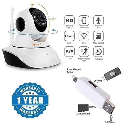 Buy Drumstone WiFi Camera Wireless Hd Ip WiFi CCTV Camera