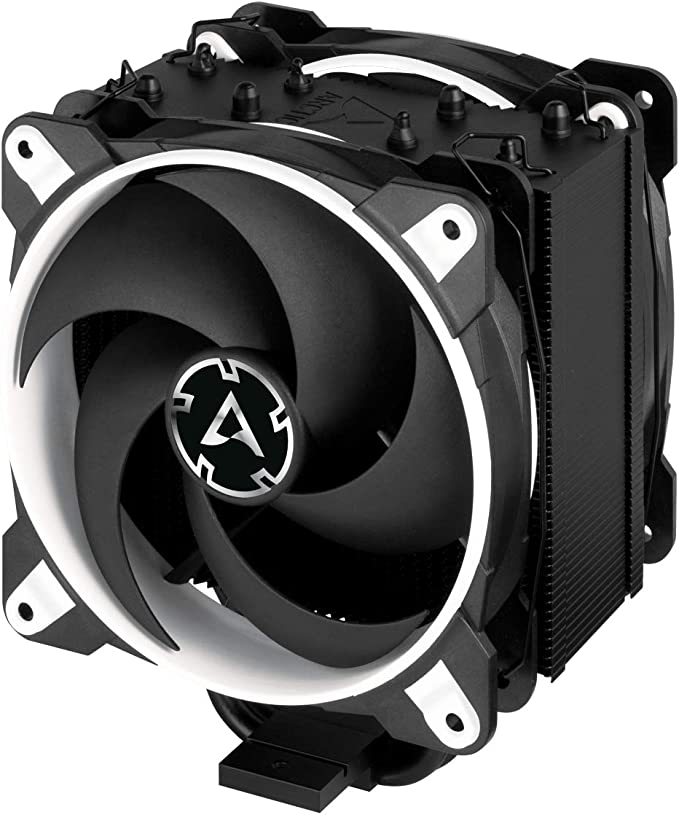 ARCTIC Freezer 34 eSports DUO - Tower CPU Cooler with BioniX P-Series case fan in push-pull, 120 mm PWM fan, for Intel and AMD socket - White: Amazon.co.uk: Computers & Accessories